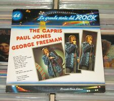 The Capris, Paul Jones, George Freeman - LP (mint-) La Grande Storia del Rock