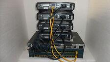 Cisco CCNA CCNP Lab 1 x 2620 4 x 1720 Frame Relay CCNA13  CCENT ICND