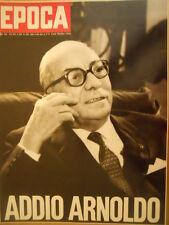 EPOCA 1082 1971 Speciale Addio Arnoldo Mondadori