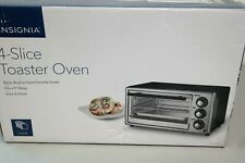 Toaster Oven Insignia 4-Slice Auto Shutoff Toast Bake  Broil Functions Timer 30B