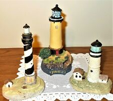 Lighthouse Figurines - Lot of 3