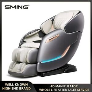 SMing Electric Full Body Zero Gravity Massage Chair Luxury 4D SL Automatic Multi