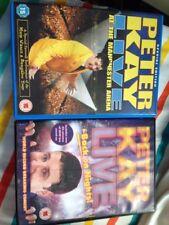 Peter Kay Live DVD bundle, Back On Nights & Manchester arena Live
