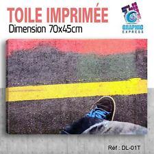 70x45cm - TOILE IMPRIMÉE - TABLEAU MODERNE DECORATION MURALE - DJ DIAZE - DL-01