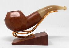 Superbe pipe ancienne en bruyère et corne !!
