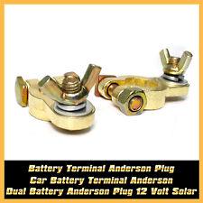 Dual Car Auto Battery Terminal Anderson Plug 12V Caravan Trailer Solar 4x4 truck