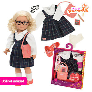 """NEW OUR GENERATION PERFECT SCORE School DELUXE Outfit Accessory 46cm/18"""" Dolls"""