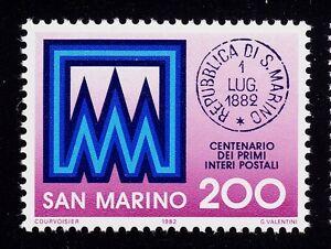 SAN MARINO # 1017 MNH  POSTAL STATIONERY