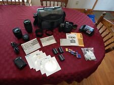 Nikon D100 Complete Photography Kit, Bag, Lenses And Extras