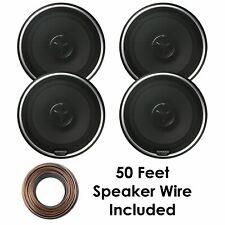 (4) Kenwood  KFC-X174 6-1/2� 240 Watt 2-Way Coaxial Speakers + 50 FT Wire