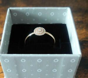Pandora Ring Gold 585 (14K) 150184CZ Gr.58 NEU !