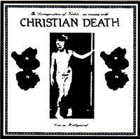 CHRISTIAN DEATH DECAL STICKER VINYL vintage retro death rock dark wave goth punk