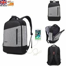 Anti-Theft Travel Laptop Backpack Rucksack USB Port Computer Bag Pack Waterproof