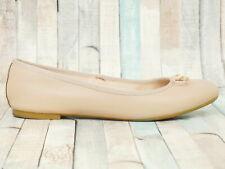 MINOZZI Milano ☘ Damen Ballerinas Gr. 38 Schuhe Leder Beige Flats Chaussures