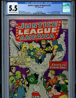 Justice League of America #31 CGC 5.5 1964 DC Comics Silver Age K19