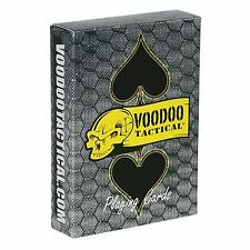 VooDoo Tactical Logo Full Deck Playing Cards with No Spells and No Spirits