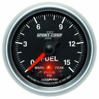 Auto Meter 4963 Ultra-Lite II 2-1//16 0-100 PSI Full Sweep Electric Fuel Pressure Gauge