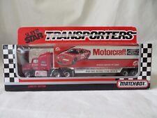 Matchbox Super Star 1992 Transporters Motorcraft Ford CY109 Bud Moore #6106