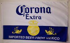 Corona Extra Beer Flag 3' X 5' Deluxe Indoor Outdoor Made In Mexico Banner