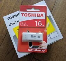 Toshiba TransMemory U301 16GB Flash Drive USB 3.0 Memory Stick Bulk 20 Pack