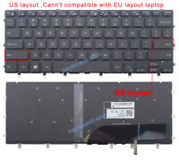 New for Dell XPS 15-9550 9560 series laptop US backlit keyboard 0WDHC2 NSK-LV0BW