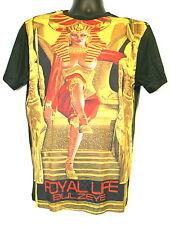 Bulzeye Threads Men's Casual T-Shirt Size Small NWOT $89 Black Royal Life