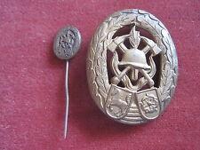 Lippe Feuerwehr-Leistungsabzeichen in Bronze mit Miniaturnadel