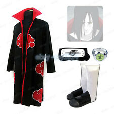 Akatsuki Orochimaru Cosplay Costume Robe Shoes Ring Headband Naruto X'mas Gift
