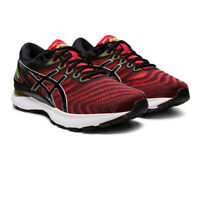 Asics Mens Gel-Nimbus 22 Running Shoes Trainers Sneakers - Black Red Sports