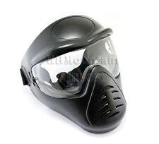 Heavy Duty Full Face Mask with Anti-Fog Lens / Black (KHM Airsoft)