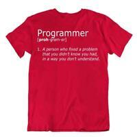 Fix A Problem Tshirt Programmer T-Shirt Cute Birthday Gift Tee Geek Shirt