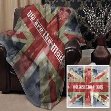 SIAMO I MODS Union Jack Design morbido tiro coperta in pile GRANDE IDEA REGALO