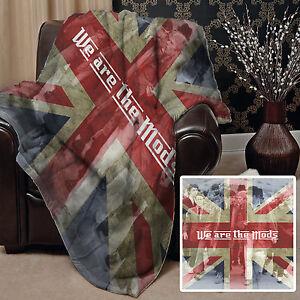 We Are El Mods Union Jack Diseño Suave Manta Polar Gran Idea Regalo