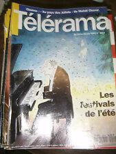 Télérama N° 2214 1992 Festival d'été Mehdi Charef Norman Maclean Miquel Barcelo