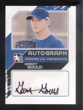 2011 In the Game ITG Heroes & Prospects Close Up Autograph Garrett Gould
