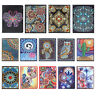 5D DIY Special Shaped Diamond Painting Notebook Diary Book Sketchbook