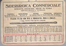Siderurgica commerciale: Roma: tubi ferro con vite e manicotto - neri e zincati.