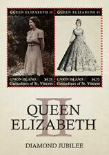 Union Island 2013 - Queen Elizabeth II Diamond Jubilee ss of 2 Stamps MNH