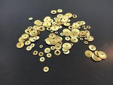 Clocks Repair Brass Washers 144 Piece Assortments