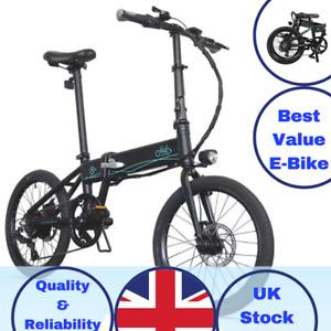 // FIIDO D4S // E-Bike 250W 10.4Ah 80KM 25KM/H 20 Inch Folding Electric Bicycle