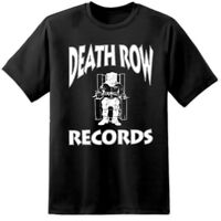 Mens Death Row Records T Shirt (S-3XL) Dr Dre Tupac Hip Hop Drake Eminem Snoop