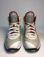 Nike Lebron 8 GS Size 6Y White Concord Red Basketball Shoes