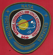 NASA PROTECTIVE SERVICES SECURITY POLICE SHOULDER PATCH
