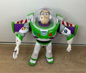 Genuine Disney Toy Story Talking Buzz Lightyear Toy Figure- Working- Mattel 2015
