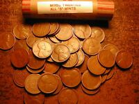 "LINCOLN WHEAT CENT PENNY ROLL mixed twenties ALL ""S"" MINTS, contains every date"