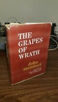The Grapes of Wrath by John Steinbeck 1939 Hardcover Viking Press Club Edition