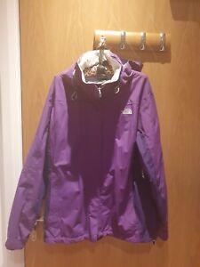 Genuine North Face Waterproof Jacket Size XL Womens Purple