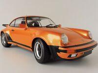 Porsche 911 Turbo 1977 ORANGE 1/12 Minichamps 125066110 PMA G-Modell 1963