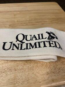 Quail Unlimited Gun Case Sock Sack Ups Oil Firearm Before Use 52 Inches Long