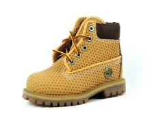Timberland 6 Inch Vent Tech Toddlers Boots Shoes Wheat Leather Hiking 27875 Rare